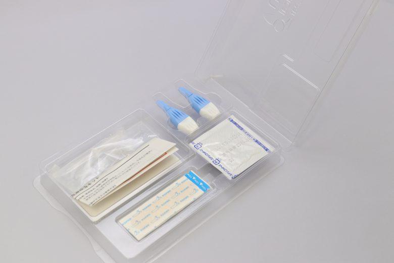 血液検査キットトレイ(中身有り2)