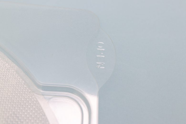 フェイスマスク用トレイ(蓋・本体)3