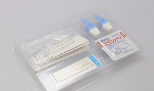 血液検査キットトレイ(中身有り1)